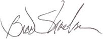 Brad Shoemaker Signature